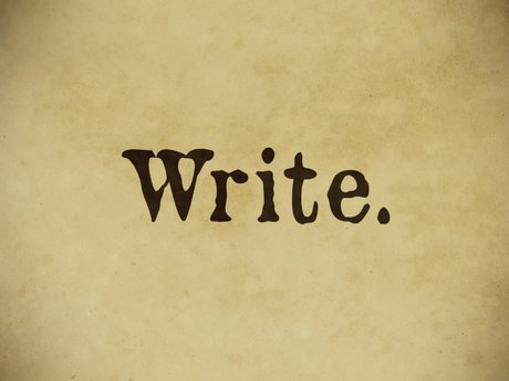 Write anything
