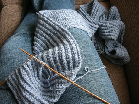 Scarf Knitting