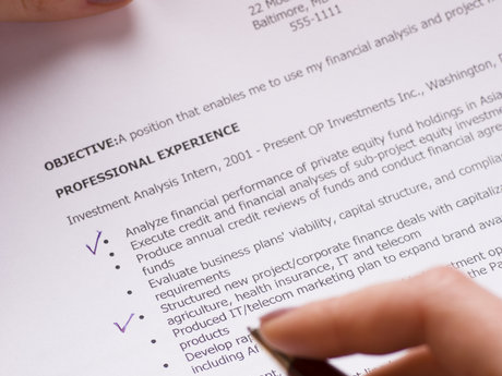 Create/Perfect a Technical Resume