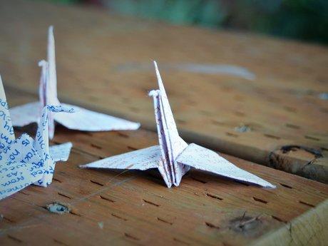 Handmade Cranes