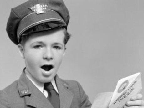 Singing Telegram in Costume