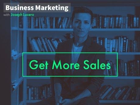 Get More Sales!