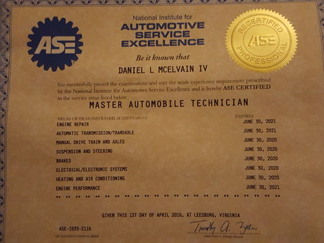 1 hour of automotive diagnostic tim