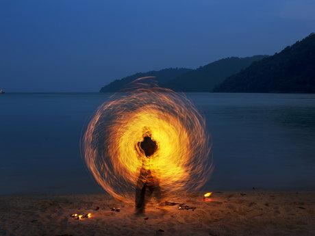 Fire Spinning Maniac