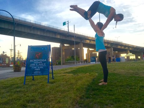 Partner AcroYoga Lessons