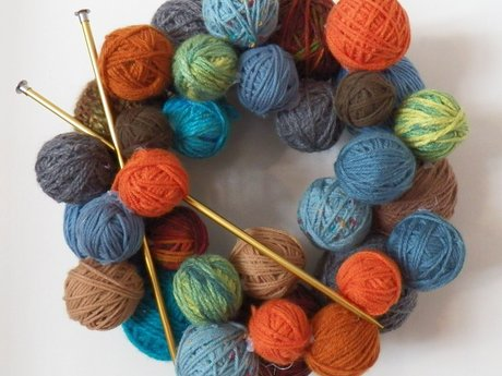 Hand knit accessories