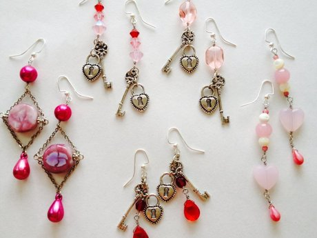 Handmade Bead Earrings Any Colors