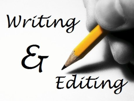 Proofreading, editing