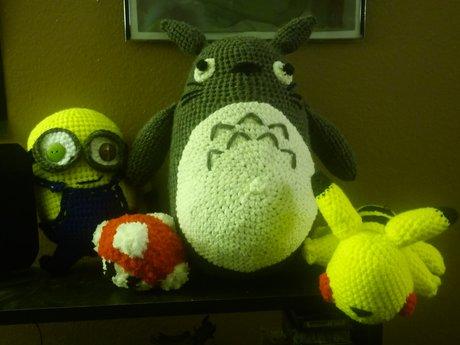 Handmade Crochet Amigurumi Toy