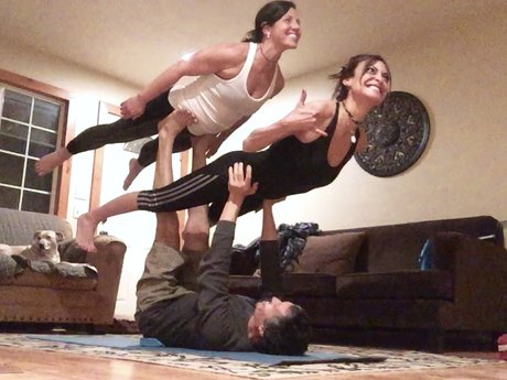 Try Acroyoga! I'll teach you...