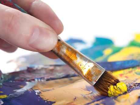 Art lessons and custom fairy houses