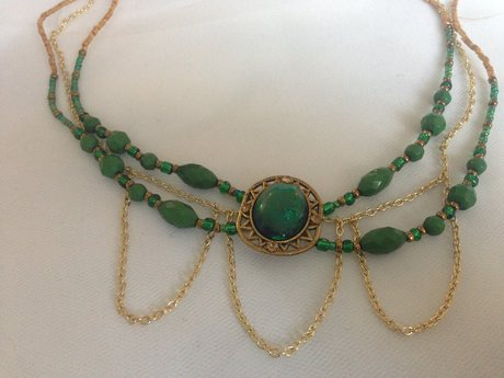 Custom-made necklace