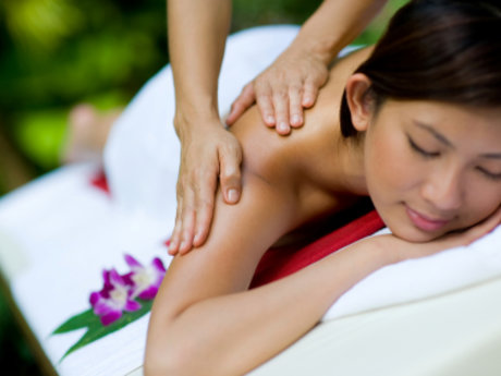 90 min relaxation massage for women