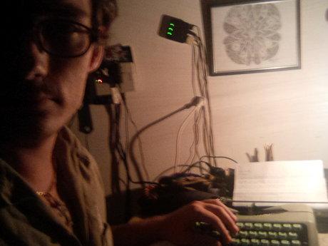 Personal typewriter written adore