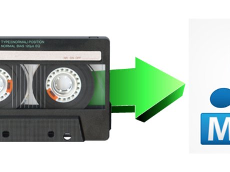 Transfer your tapes to mp3s & .mp4
