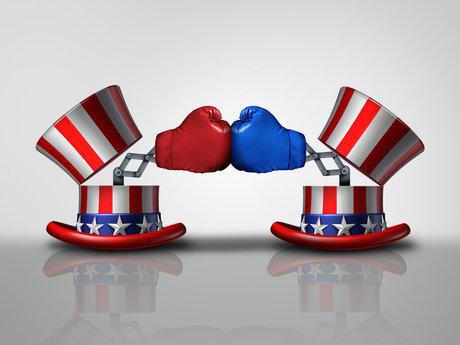 Talk politics