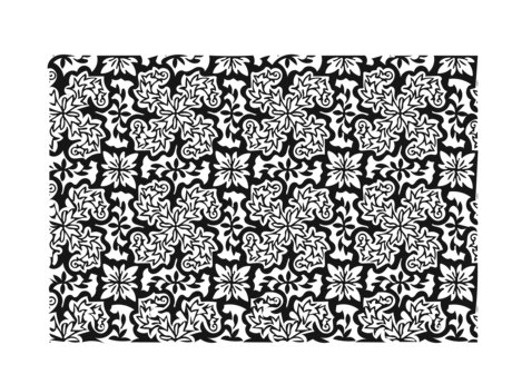 Create a Patterned Coloring Page