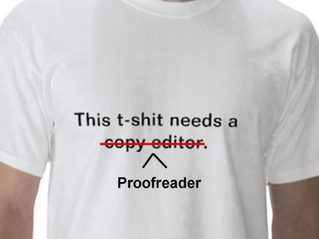 Proofreading/Editing: up to 10 pgs