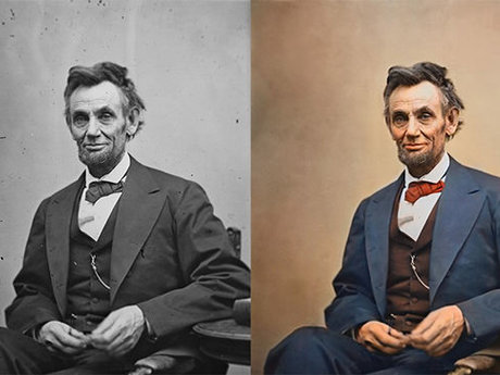 Photo Restoration/Add color to b&w