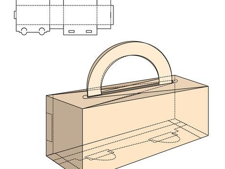Create packaging dieline