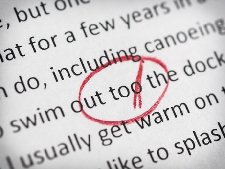 Proofreading a document up to 10 pa
