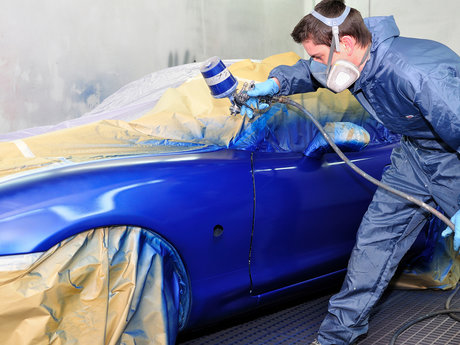 Automotive painting lessons