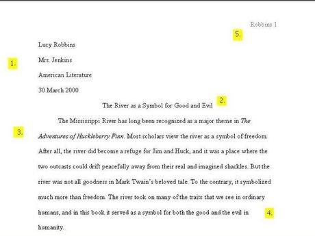 Citation Formatting