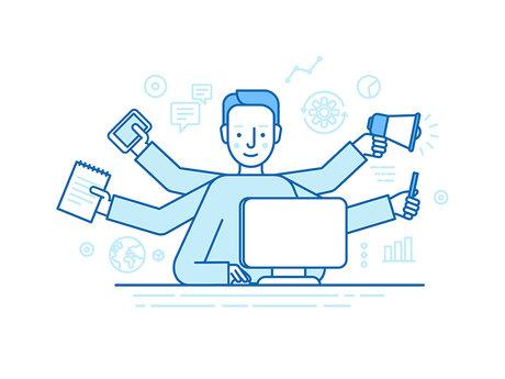 Data entry, editing, copywriting