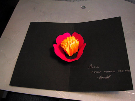 Make you this beautiful popup card