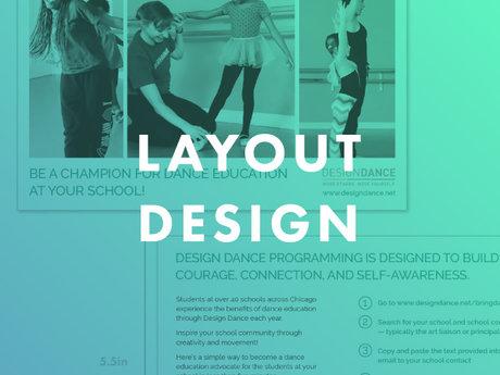 1hr of layout design