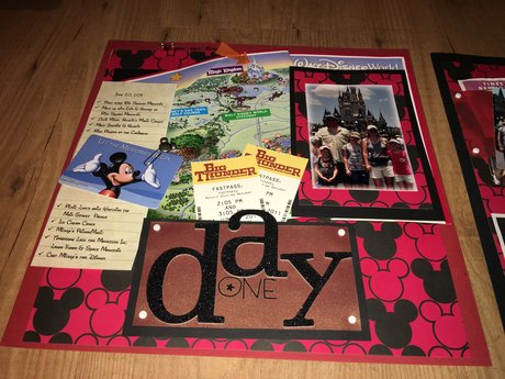 Custom scrapbook pages