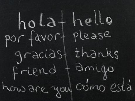 English-Spanish tutoring  translate