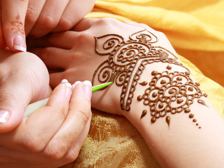 100% natural Henna tattoos