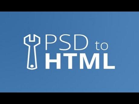 Convert PSD into HTML, CSS, jQuery