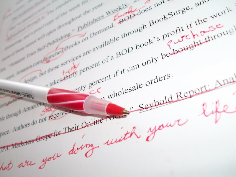 Editing papers online