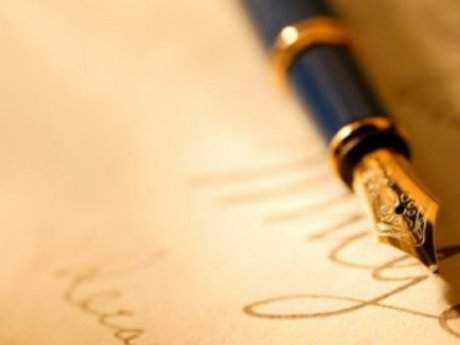 A personalized, hand written letter