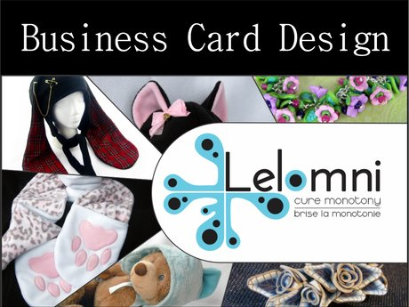 Graphic Design - Business Cards!