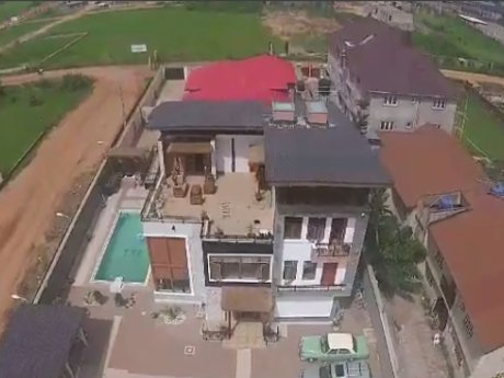 Real estate drone video