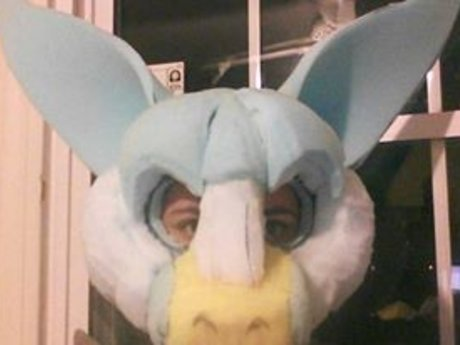 Fursuit Head Foam Base