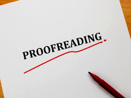 Proofreading, Revision, and Editing