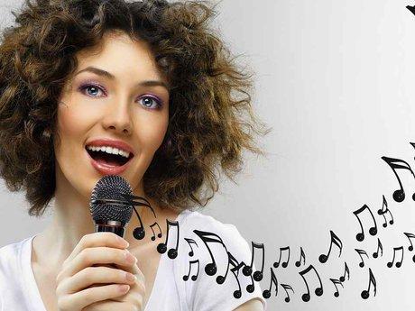 Providing vocals