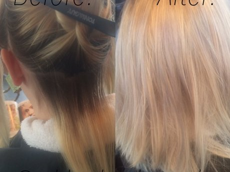 Haircut and color consultation