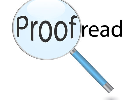 Proofreading & Copy Editing