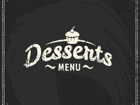 Dessert Menu Consultation