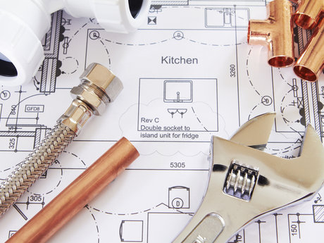 Residential plumbing and electrical