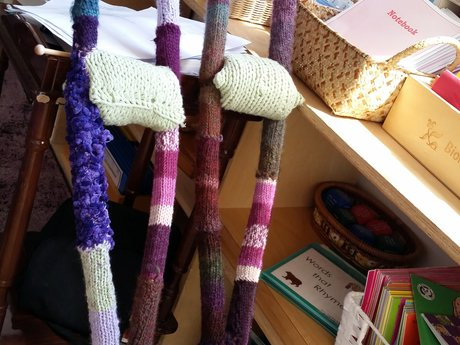 60 minute knitting lesson
