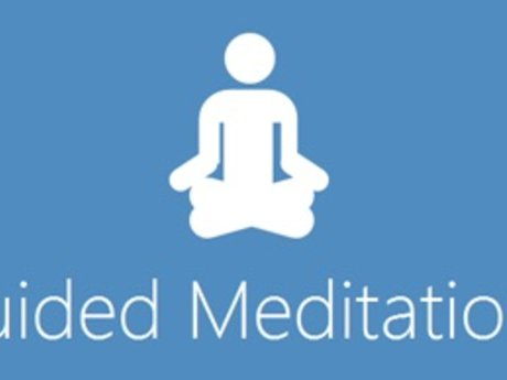 Guided meditation over the phone