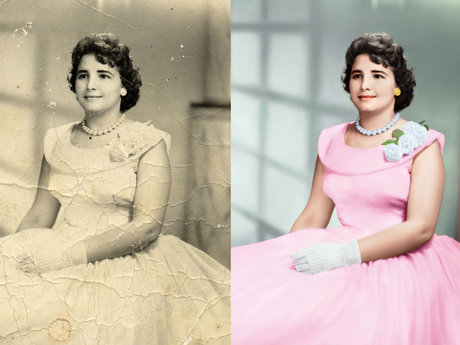 Photo restore and retouch
