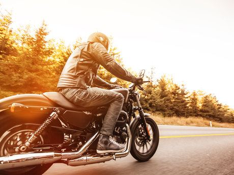 Beginner motorcycling skilling
