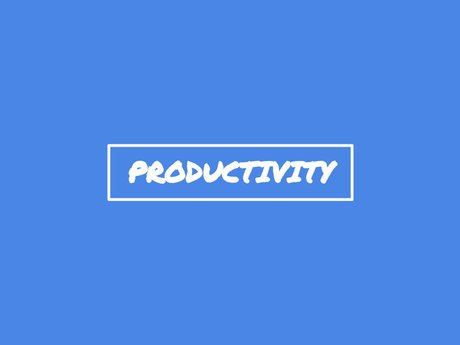 30-Minute Productivity Coaching